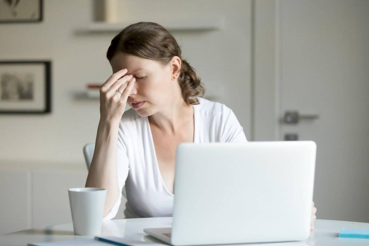 Cuando te sientas colapsada toma un breve descanso de 15 minutos para despejar tu mente