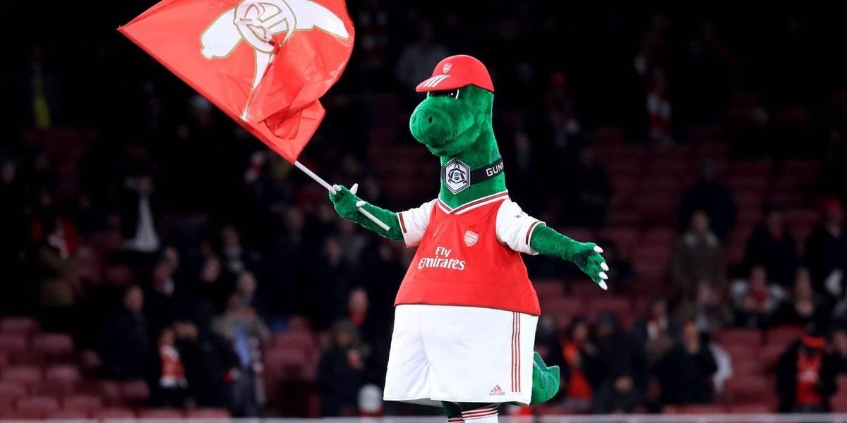 Gunnersaurus, la mascota del Arsenal que está desempleada