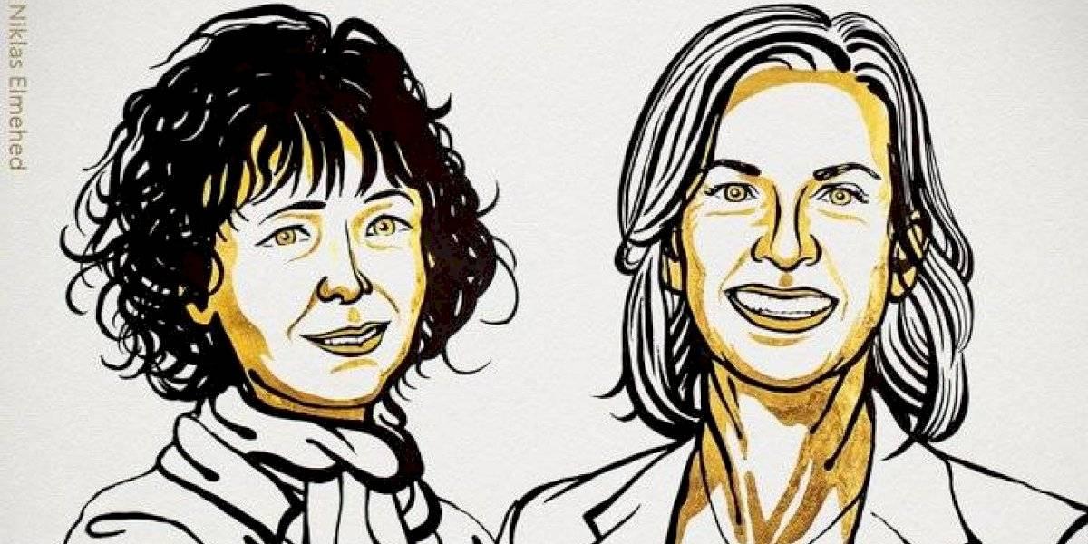 Dos mujeres ganan Premio Nobel de Química por desarrollar método para la edición del genoma