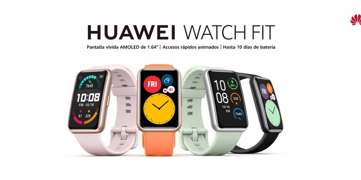 Huawei Watch Fit: Mantenerse activo nunca ha sido tan fácil