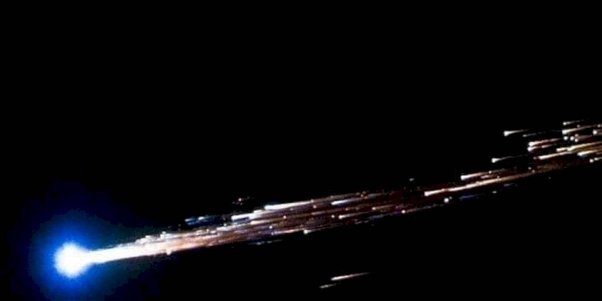Meteorito cae en México: momentos antes del impacto del objeto en Ciudad Victoria