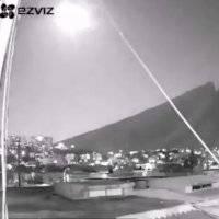 VIDEO: Así se vio en Nuevo León la sorprendente caída de un meteorito