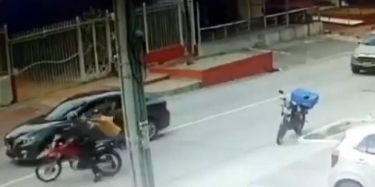En video: Hasta la Policía aseguró que este atraco y persecución fue de película