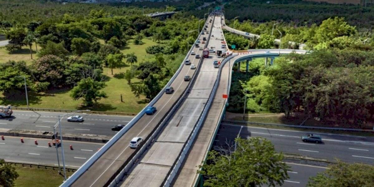Cierran carril en la PR-22 en dirección de Bayamón a San Juan