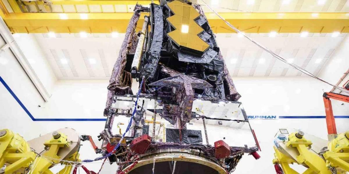El Telescopio James Webb completó las pruebas ambientales y está un paso más cerca del espacio