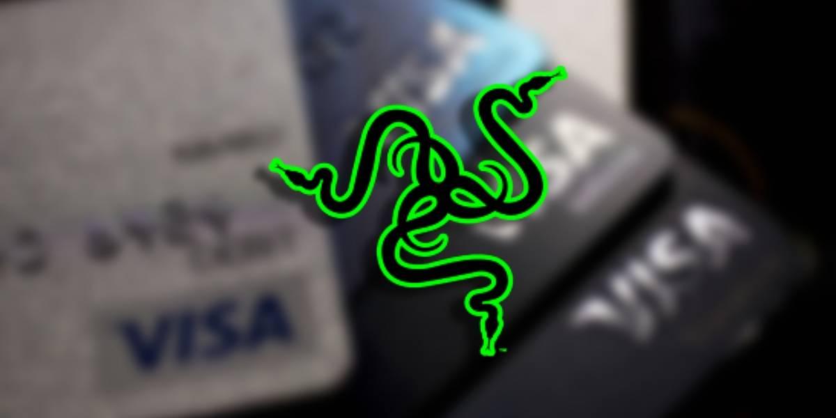 Razer anunció una tarjeta Visa de prepago con un logo que brilla