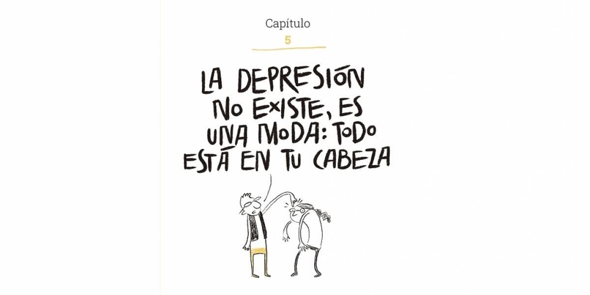 """""""La depresión (no) existe"""": las frases de ayuda pueden ser peores que la enfermedad"""