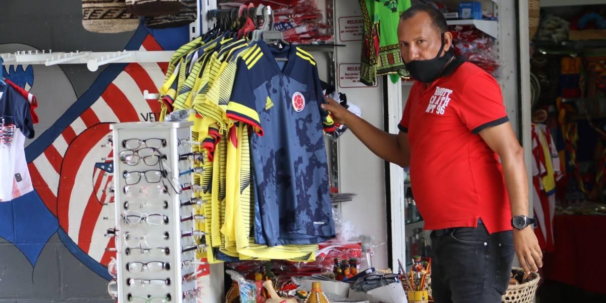 En fotos: pocas ventas y las restricciones que tendrá el partido de la Selección en Barranquilla