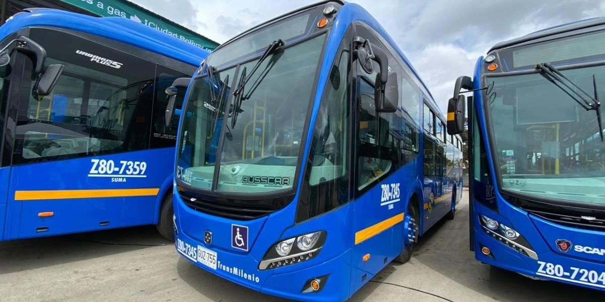 Veeduría pide explicaciones a TM por la millonada que costaría cambiar el color de los buses Sitp