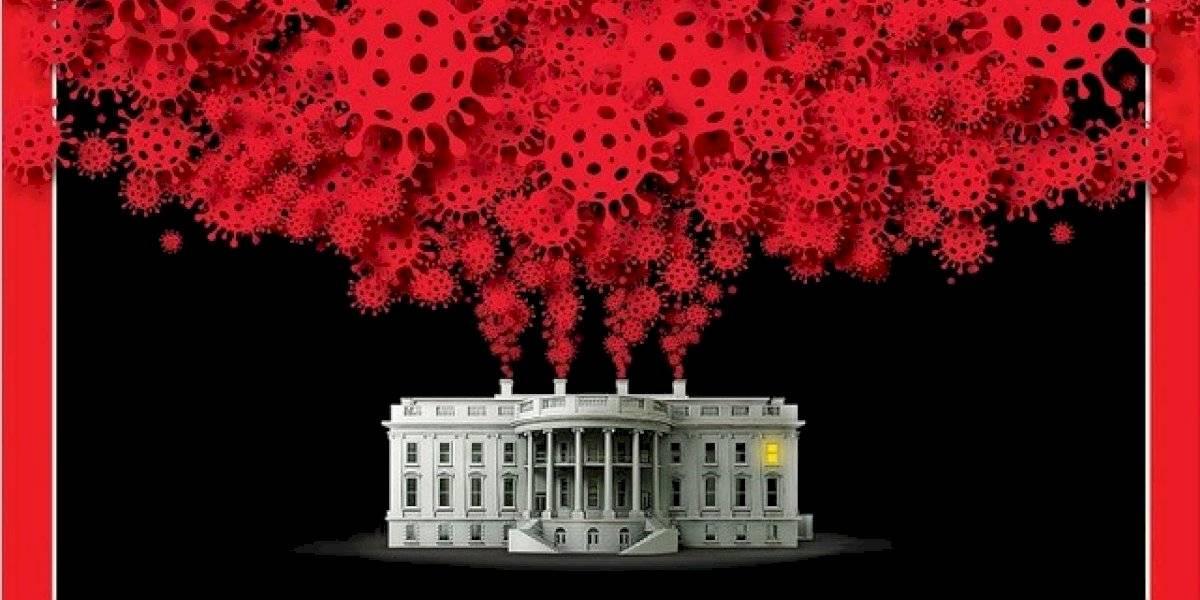 Dura portada de Time apunta la soberbia de Trump tras contagiarse de COVID