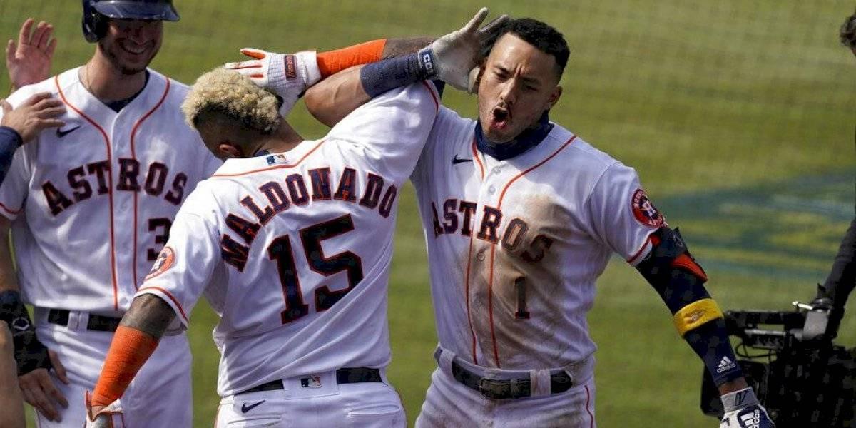 Astros pasan a la serie de campeonato de la Liga Americana