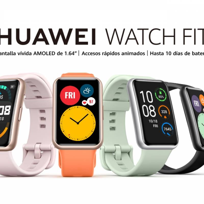 5 situaciones donde Huawei Watch Fit será tu mejor asistente personal