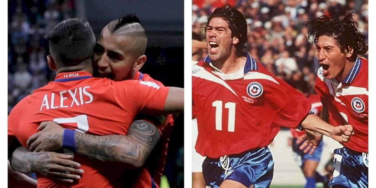 """Con los """"Sa-Za"""" a la cabeza y Alexis-Vidal escoltándolos: la lista de los máximos goleadores de la Roja en Clasificatorias"""