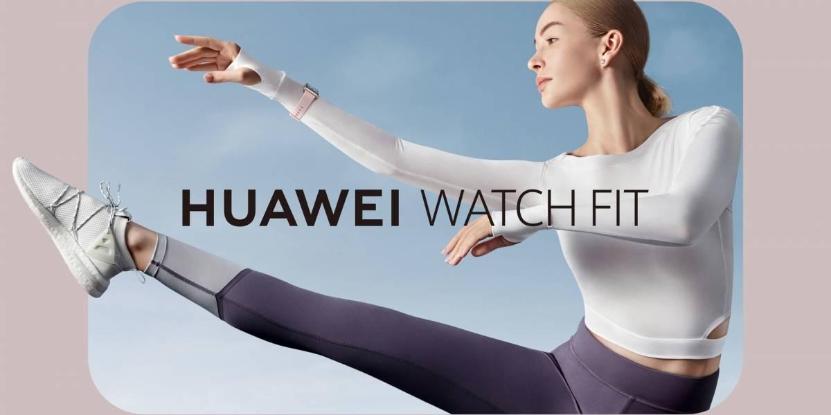 El nuevo Huawei Watch Fit facilita tu día a día