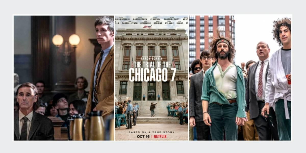 'The trial of the Chicago 7', un homenaje a la resistencia contra la represión policial y la guerra