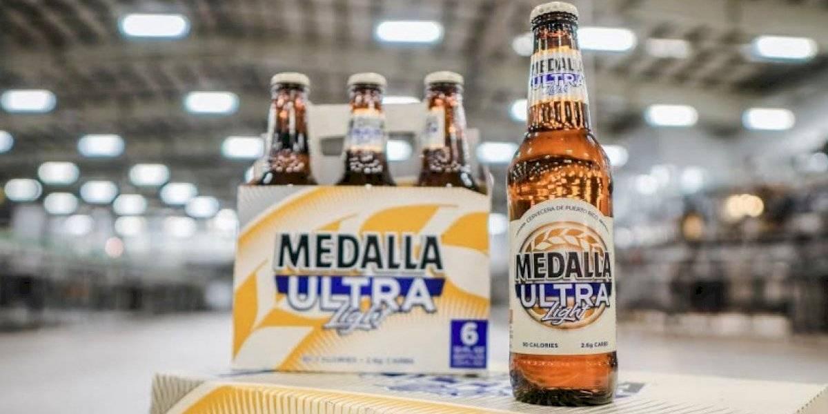 Vuelve la cerveza Medalla Ultra Light