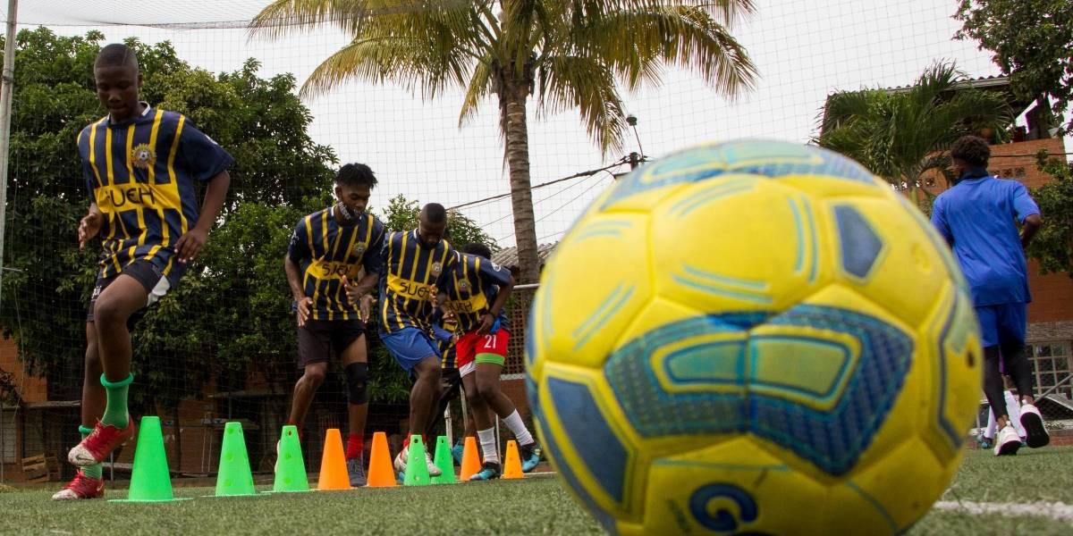 Jóvenes talentos del oriente de Cali están a un paso del fútbol profesional