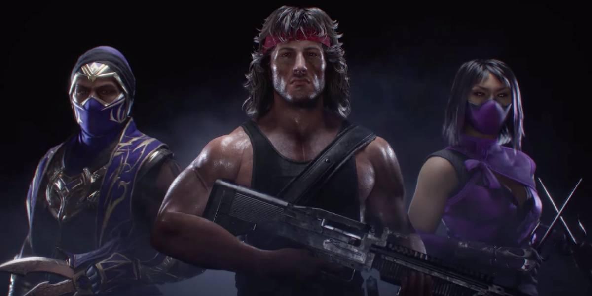 Mortal Kombat 11 presenta a Rambo, Rain y Mileena como parte del Kombat Pack 2