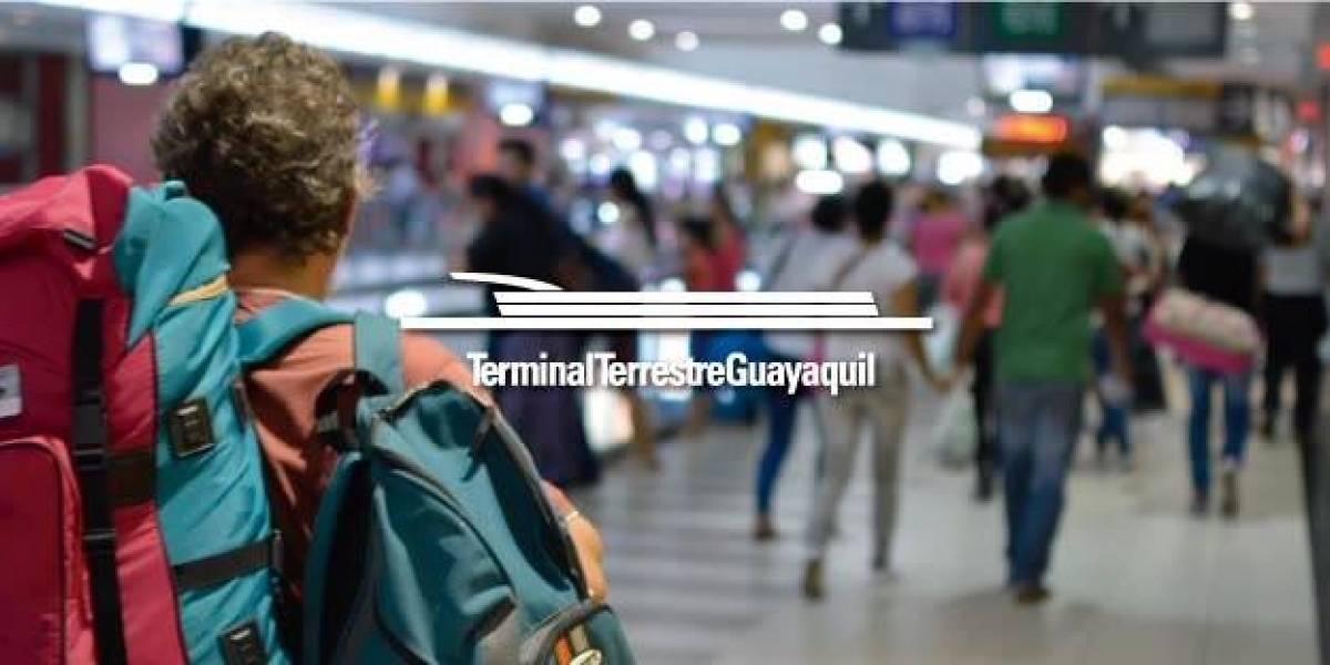 Terminales Terrestres de Guayaquil activan plan por feriado del Bicentenario de la ciudad