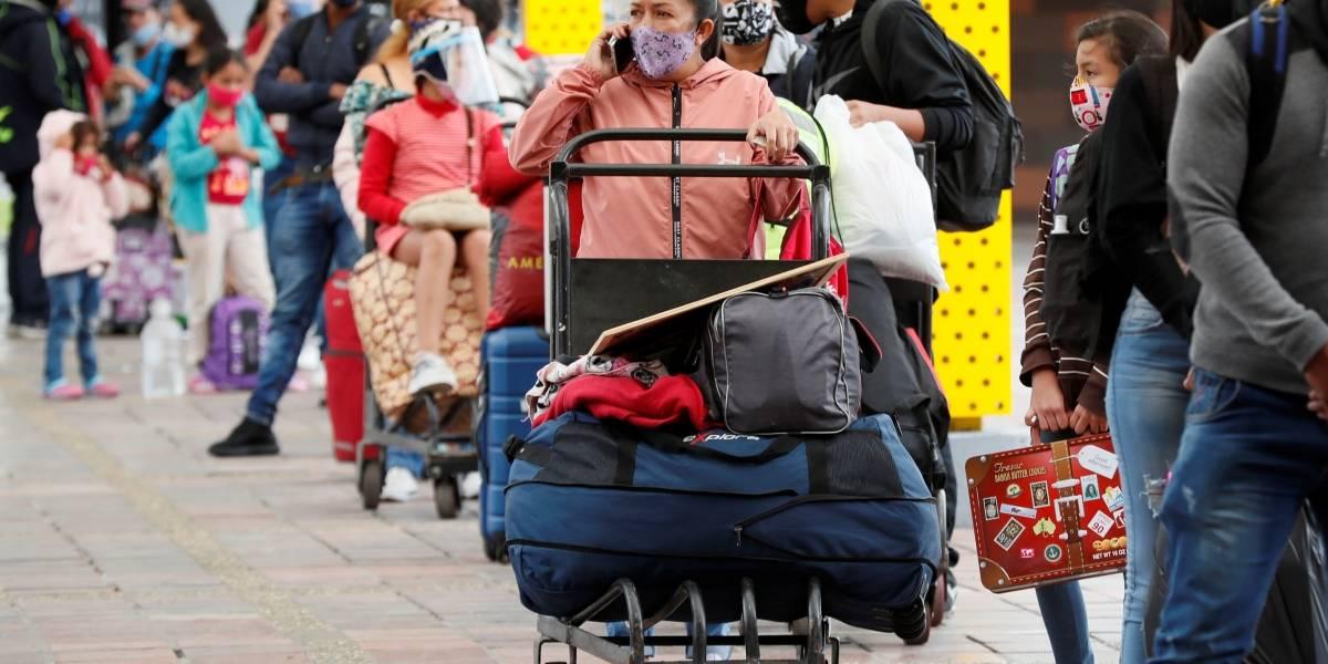 Plan éxodo: se espera que más de 130.000 pasajeros salgan de Bogotá en buses intermunicipales