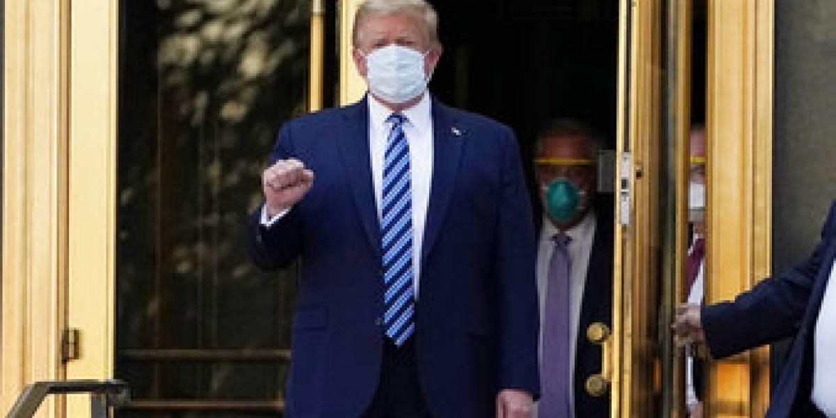 Trump desafía al peligro: este sábado reaparece en un evento público en la Casa Blanca