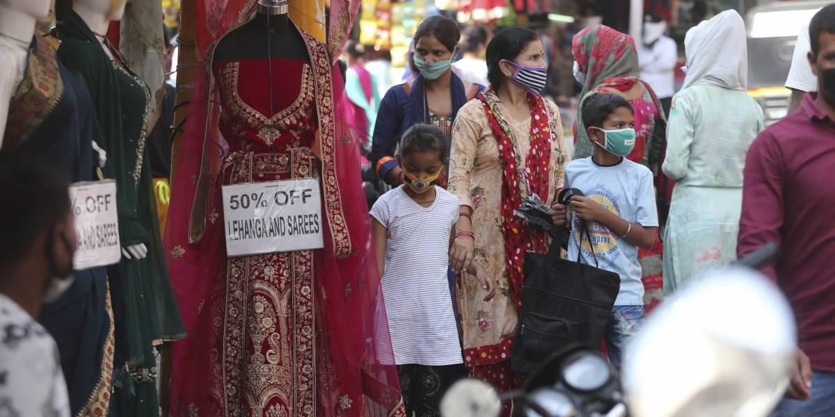 India pasa 10 millones de casos del coronavirus