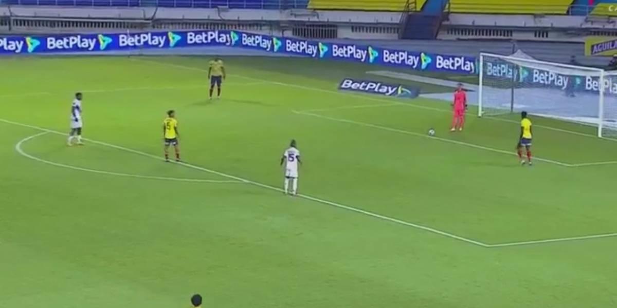 """Grave lesión de figura de Colombia ante Venezuela: posible fractura margina a defensa del partido con la """"Roja"""""""
