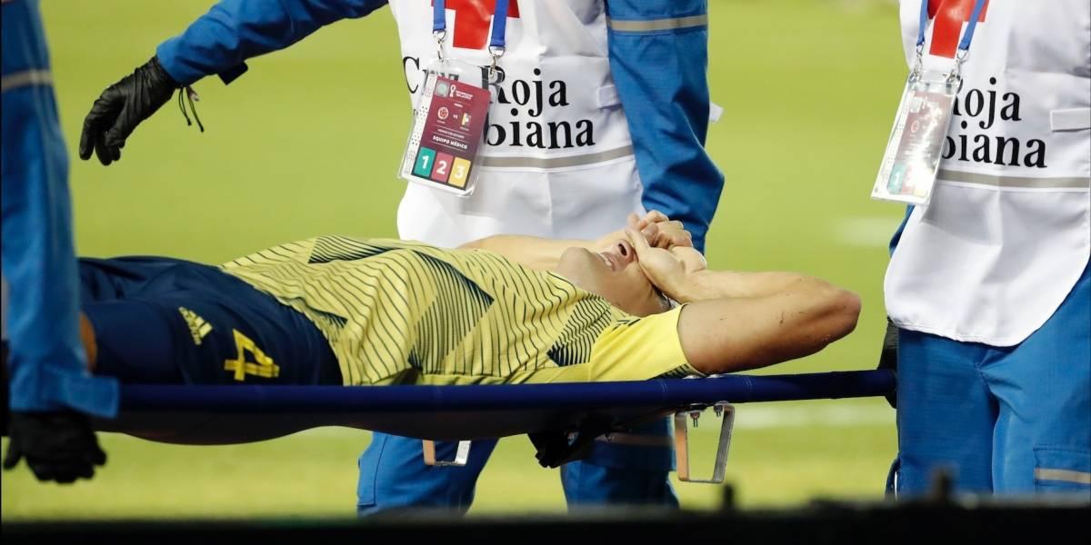 Santiago Arias salió con éxito de su operación de tobillo