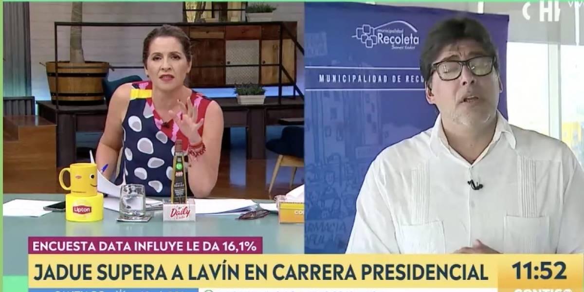 Intenso nuevo round entre Daniel Jadue y Monserrat Álvarez