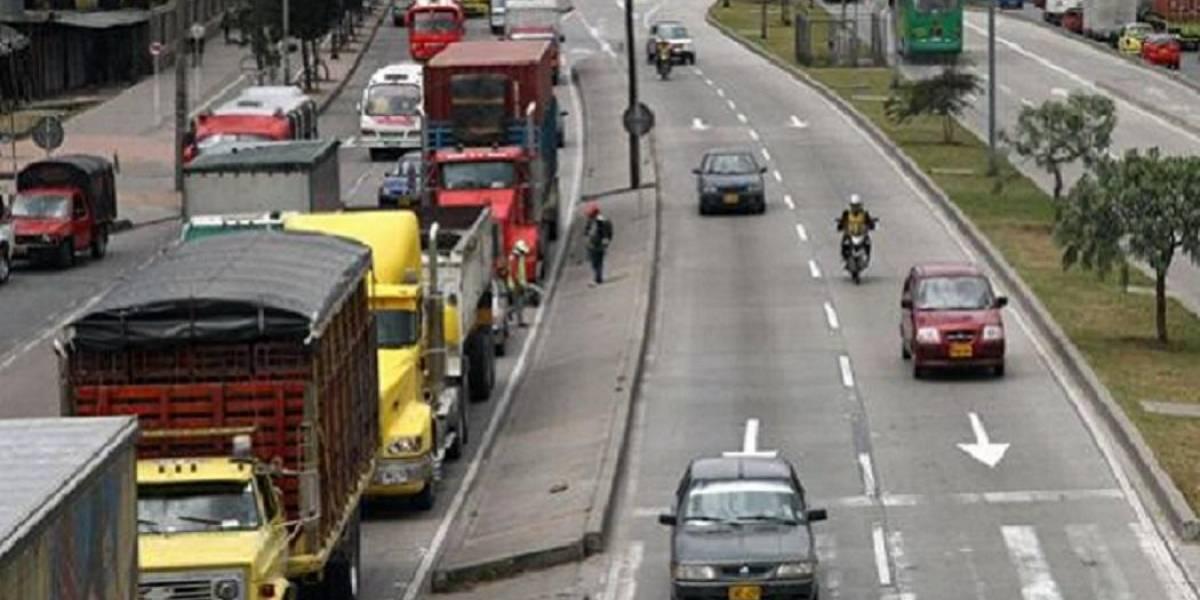Así funcionará este festivo el pico y placa en la Autopista Sur para entrar a Bogotá