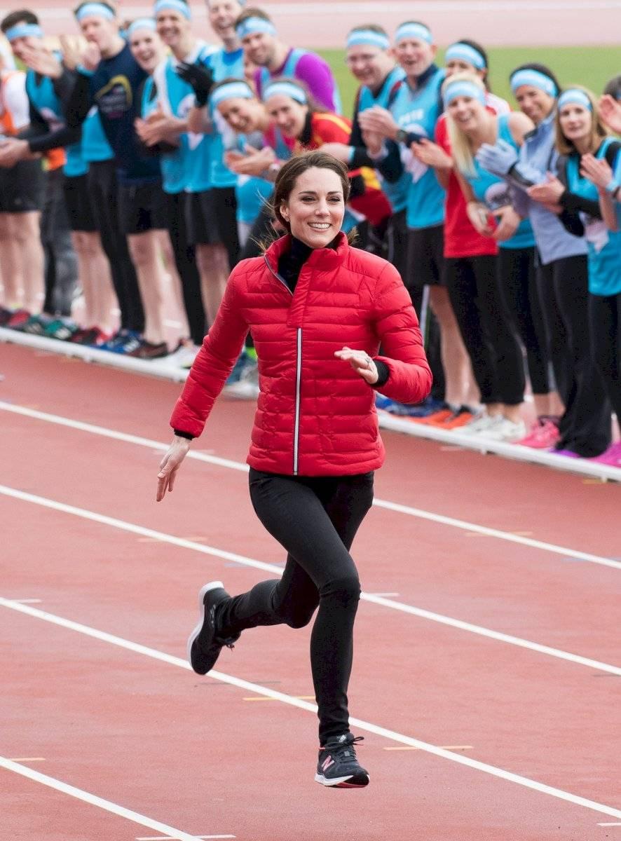 La duquesa de Cambridge también es amante de hacer ejercicios de bajo impacto