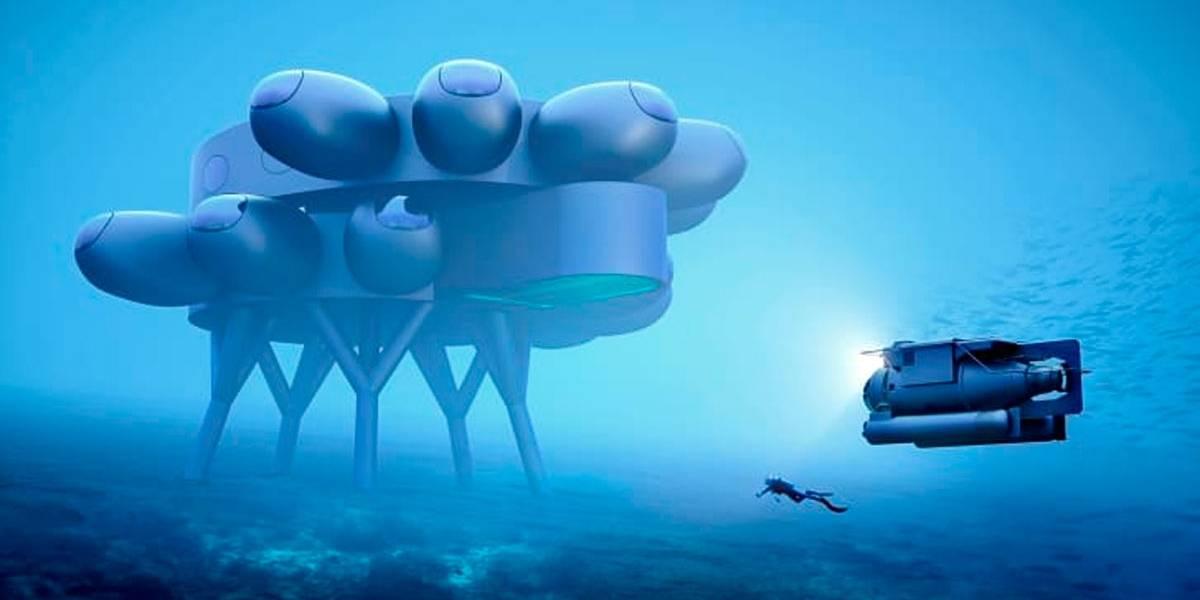 Projeto de estação de pesquisa subaquática é revelado