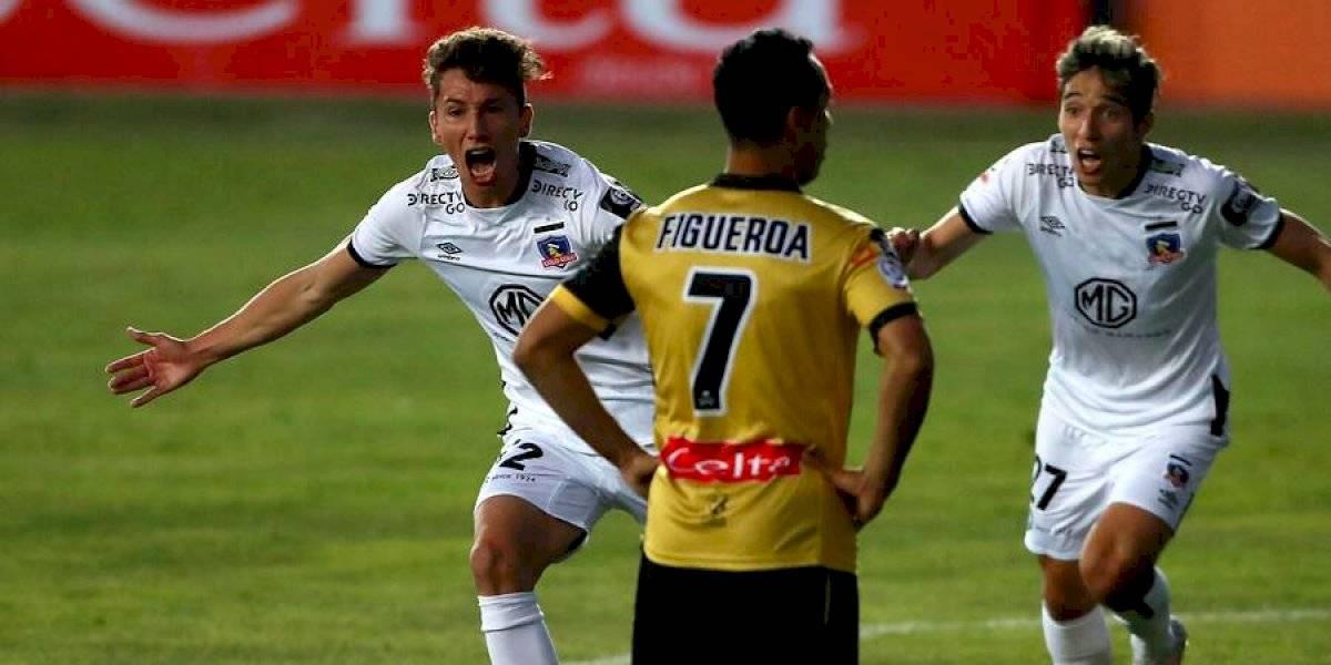 La fuerza joven salvó en la agonía el debut de Gustavo Quinteros en la banca de Colo Colo