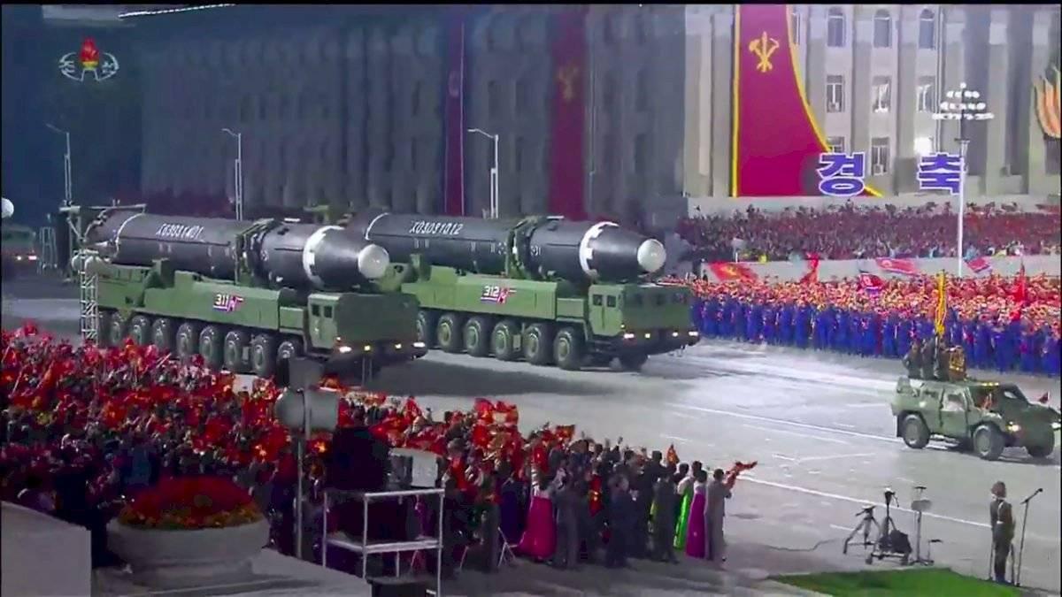 Desfile Corea del Norte