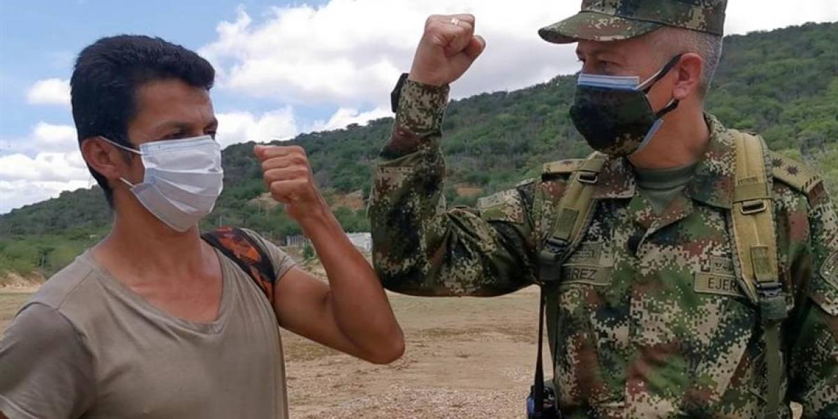 Rescatan a líder social secuestrado por el ELN