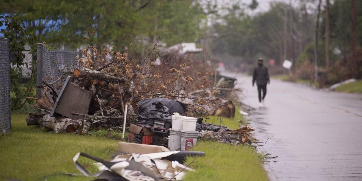 Huracán Delta se degrada a tormenta tropical sobre Luisiana