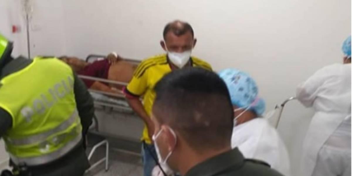 Guerra entre pandillas dejó un muerto y siete heridos que estaban viendo el partido de la Selección