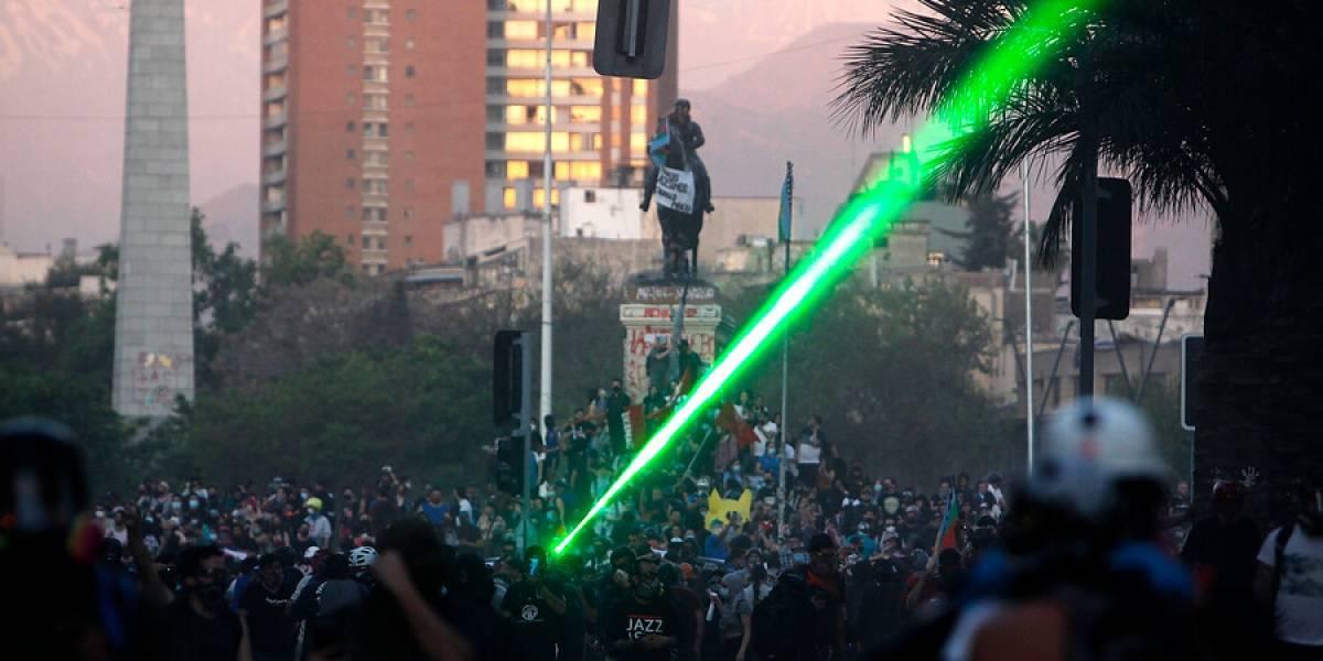 """El duro juicio de dos diputados UDI: """"En Plaza Italia gobierna el lumpen y en la Araucanía los terroristas"""""""