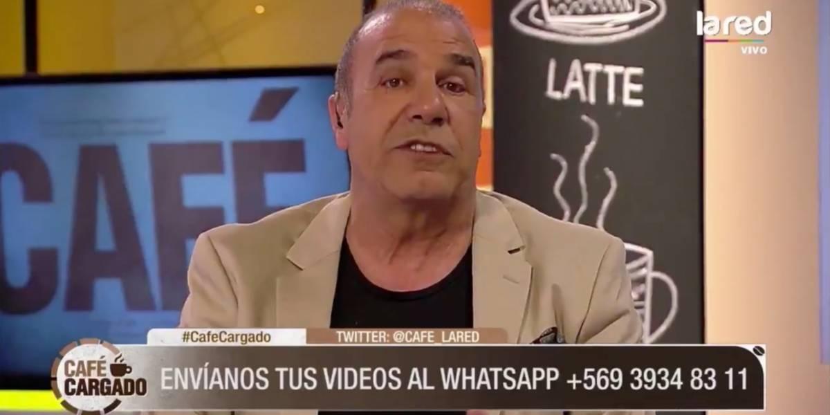 Checho Hirane se indignó con radio Cooperativa por decir que su programa marcó cero rating