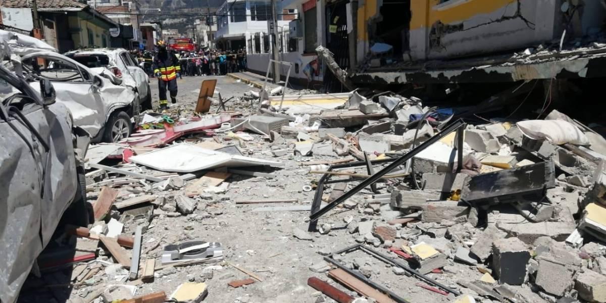 """""""Hubo un desprendimiento de la manguera que va hacia el punto de consumo"""": Ofrecen detalles de la explosión en Cumbayá"""