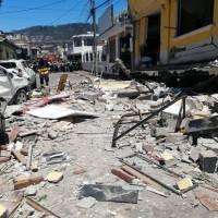 Imágenes de la fuerte explosión de un tanque de gas en restaurante en Cumbayá