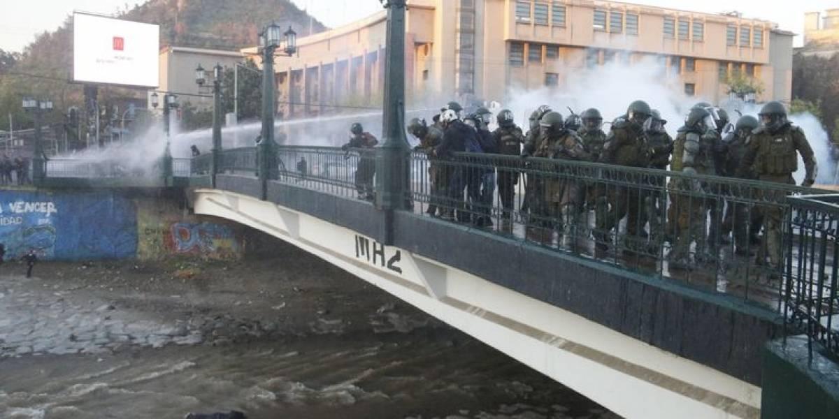 Caso del joven herido en el Mapocho: revelan nuevas declaraciones de carabineros de la patrulla policial