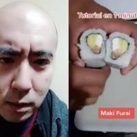"Tiktoker japonés reacciona a tutorial de ""sushi latino"""