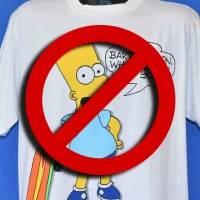 Los Simpson: escuelas de Estados Unidos prohibieron playeras de Bart en los 90