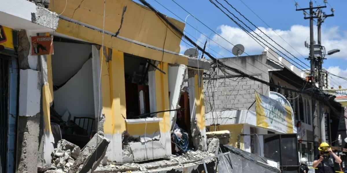 Video del momento justo en que ocurrió la explosión en Cumbayá