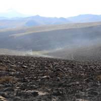 Incendio en el Antisana afectó 470 hectáreas aproximadamente, según análisis previo