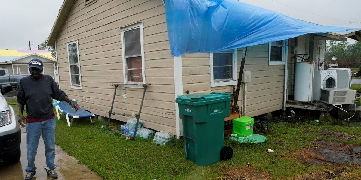 Huracán Delta dejó sin energía eléctrica a medio millón de habitantes en Luisiana