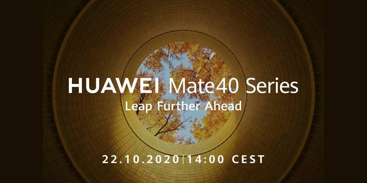 Huawei confirma al fin la fecha de presentación para el Mate 40 y es muy pronto