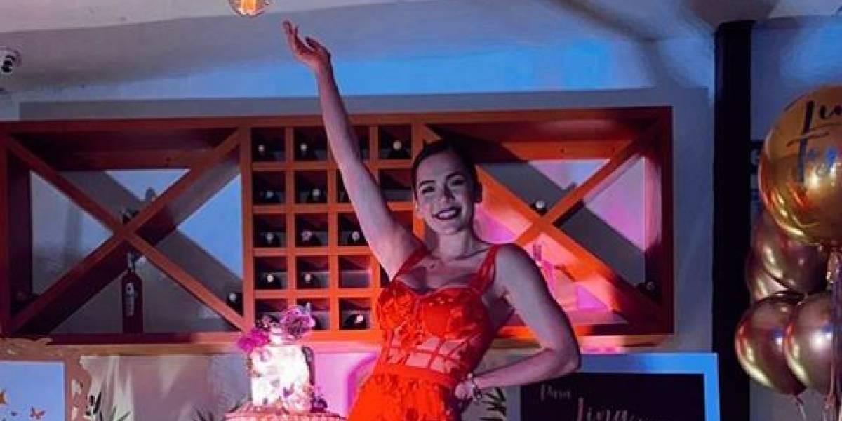Lina Tejeiro celebró sus 29 años con fiesta llanera acompañada de familiares y amigos