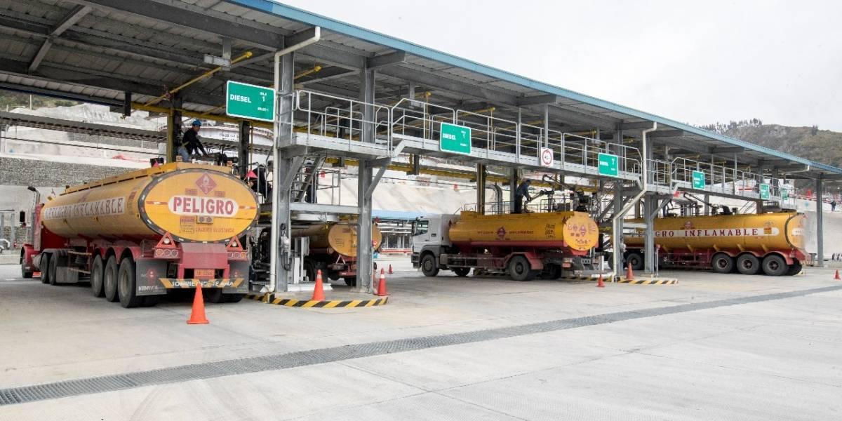Precio de los combustibles en Ecuador entre el 11 de octubre al 10 de noviembre